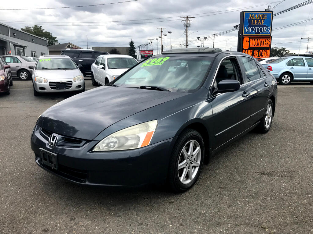 Honda Accord Sdn EX Auto V6 w/Leather/XM/Nav 2004