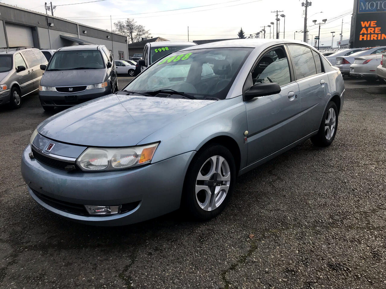 2003 Saturn ION 3 Sedan Automatic