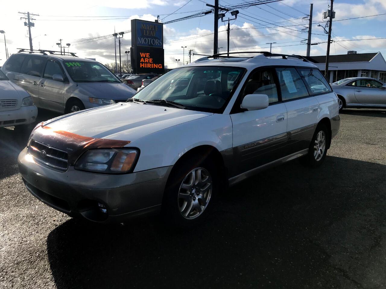2000 Subaru Legacy Wagon Outback Limited AWD