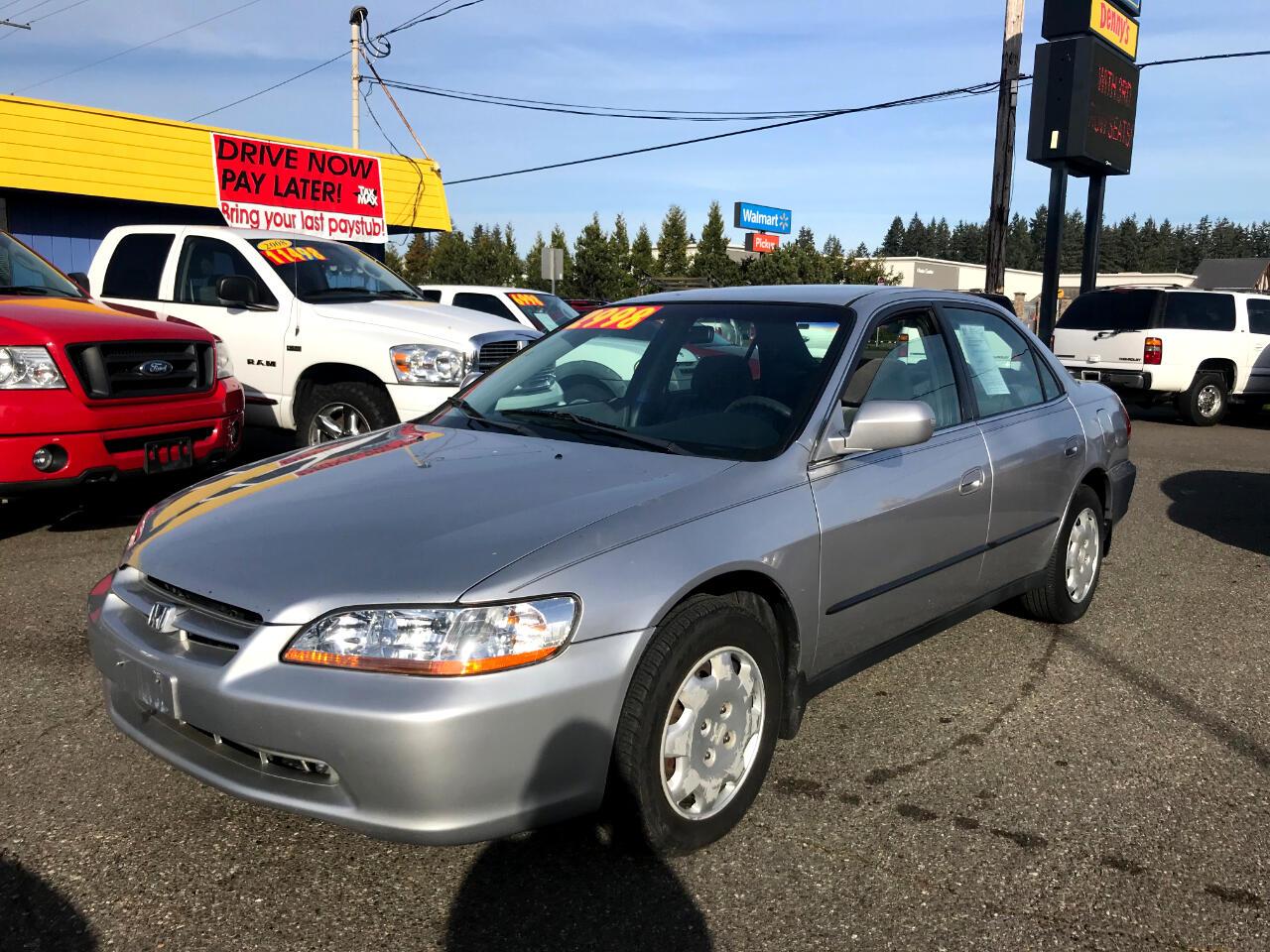 2000 Honda Accord Sdn LX AT