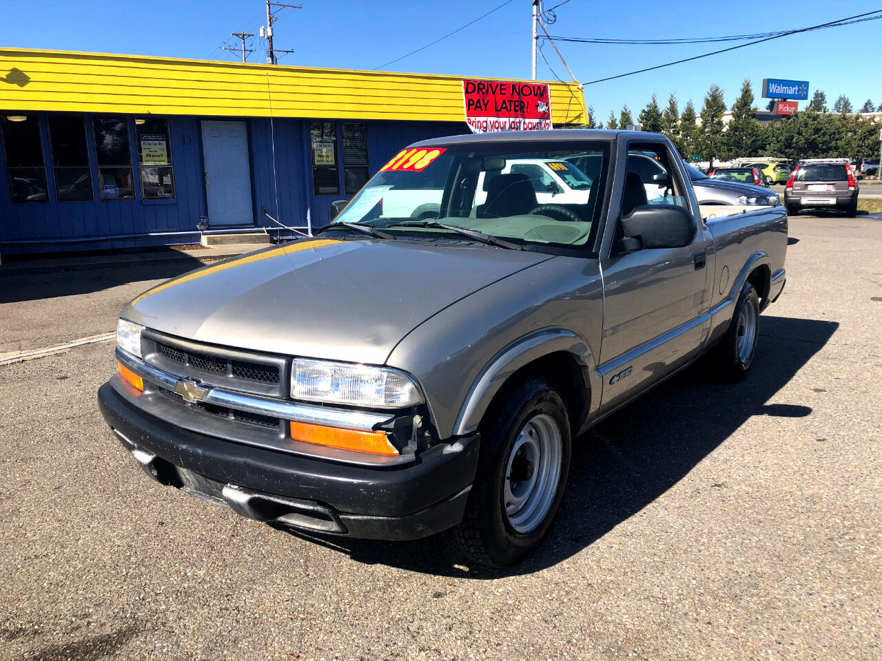 1999 Chevrolet S-10 Long Bed 2WD