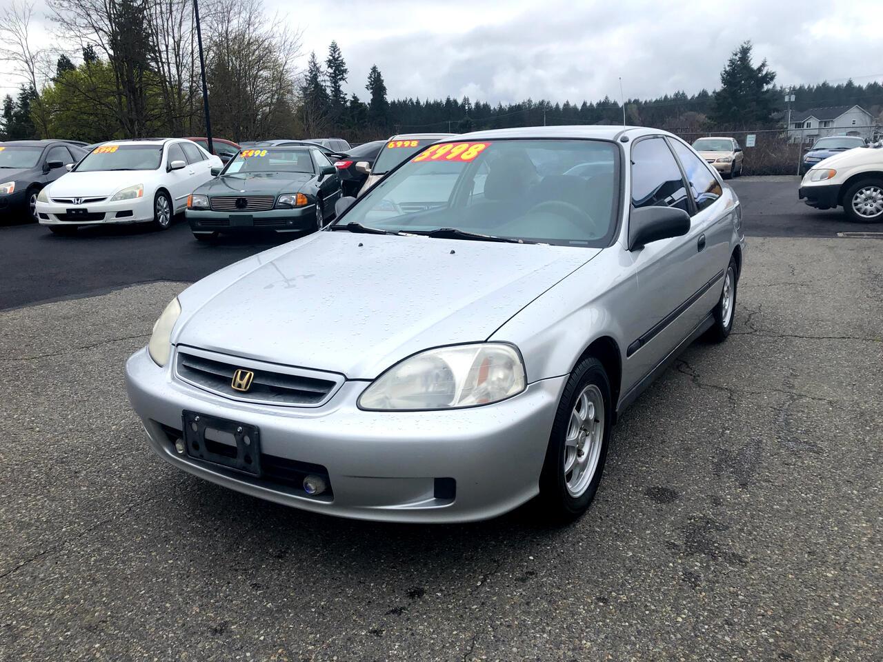 2000 Honda Civic HX coupe
