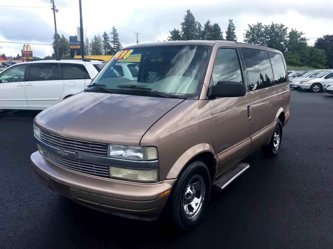 2001 Chevrolet Astro Passenger 111