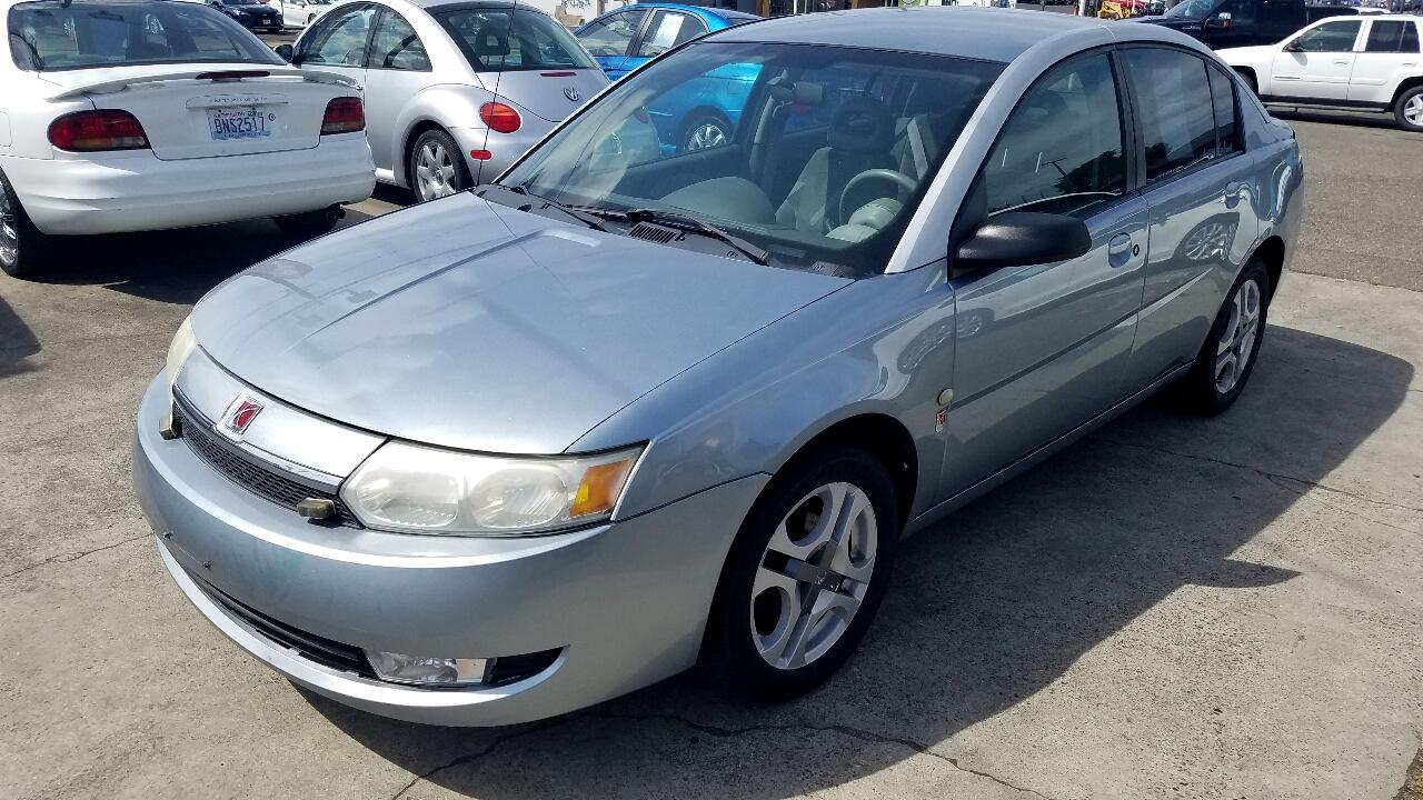 Saturn ION ION 3 4dr Sdn Auto 2003