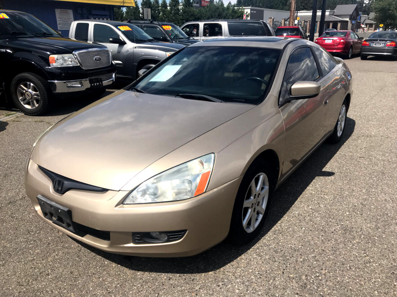 Honda Accord Cpe EX Auto V6 w/Leather/Navi 2003