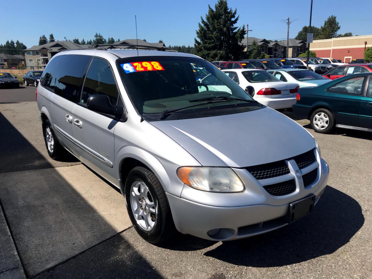 """Dodge Caravan 4dr Grand ES 119"""" WB 2001"""