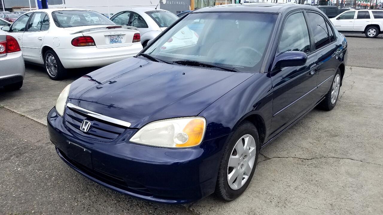 Honda Civic 4dr Sdn EX Auto 2002