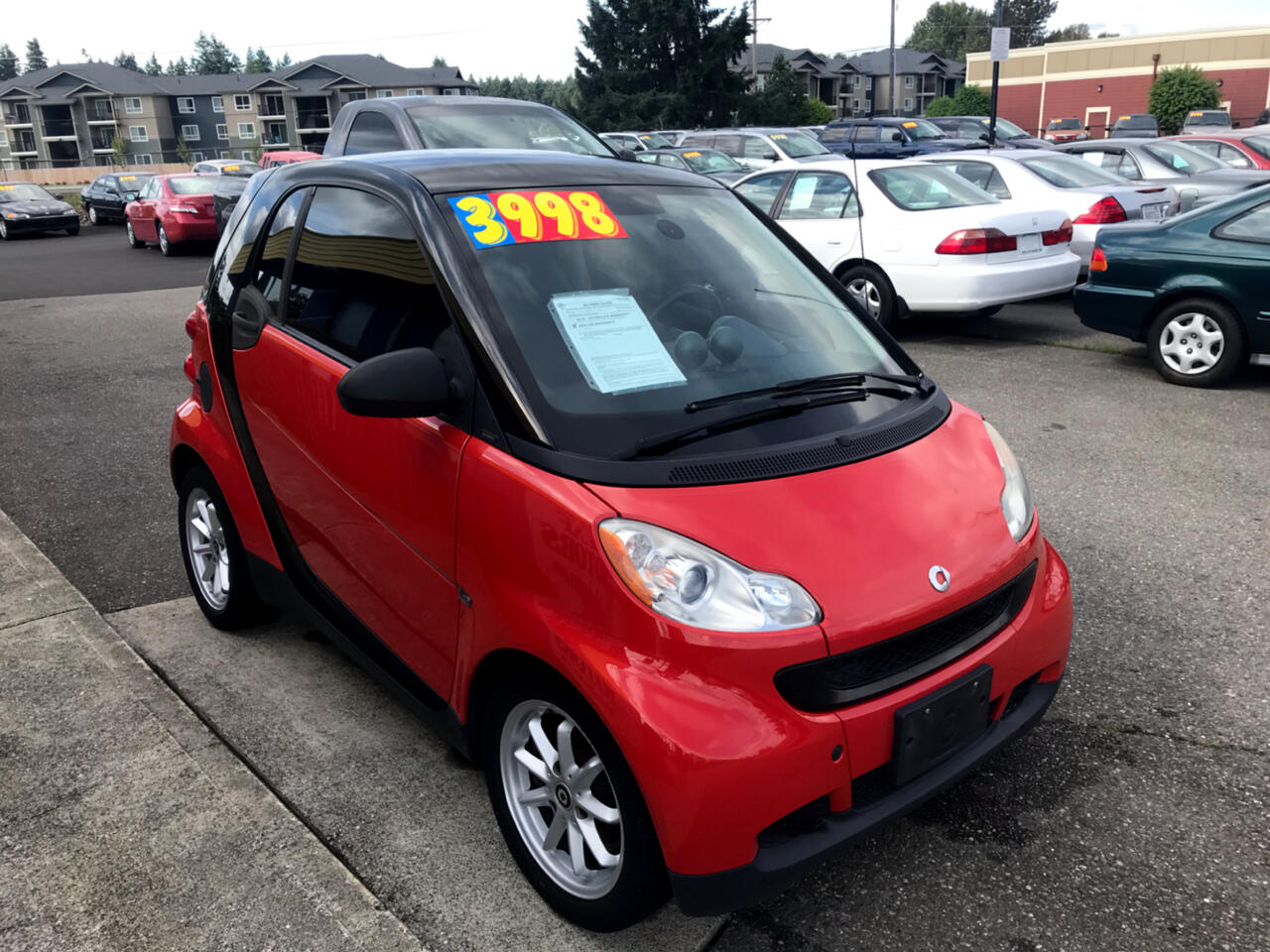 2008 smart Fortwo 2dr Cpe Passion