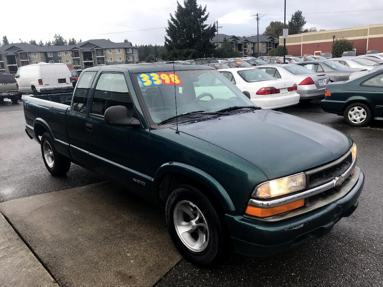 """1998 Chevrolet S-10 Ext Cab 123"""" WB LS"""