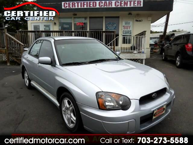 2005 Subaru Impreza 2.5 RS Sport Package