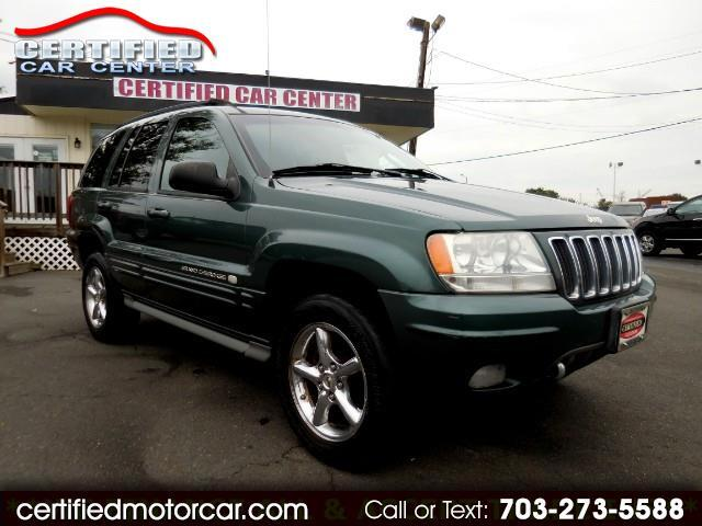 2002 Jeep Grand Cherokee 4dr Overland 4WD