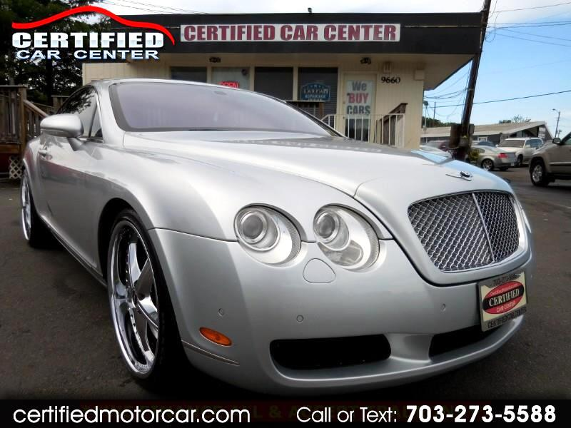 2005 Bentley Continental GT 2dr Cpe