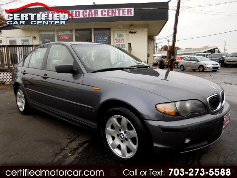 2002 BMW 3 Series 325xi 4dr Sdn AWD