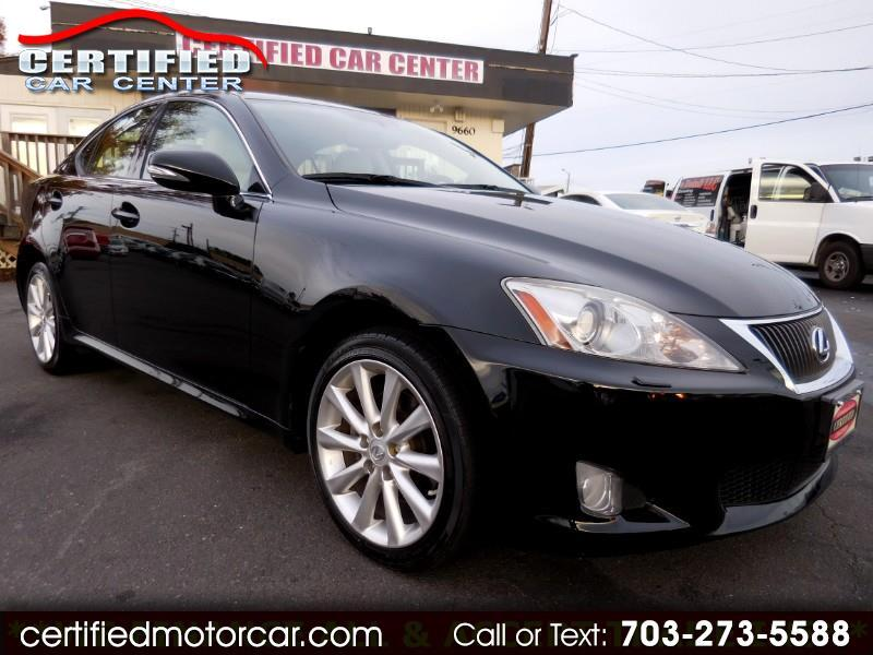 2010 Lexus IS 250 SPORT AWD