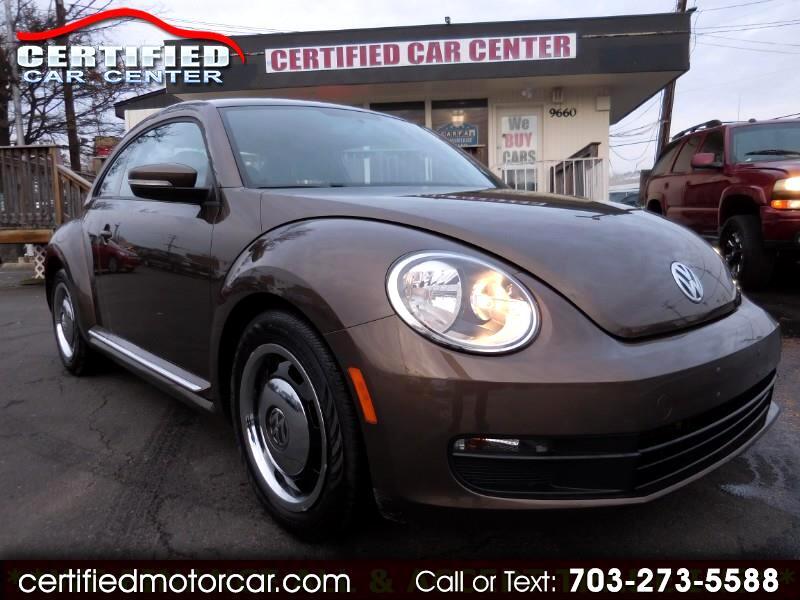 2012 Volkswagen Beetle 2dr Cpe Auto 2.5L PZEV