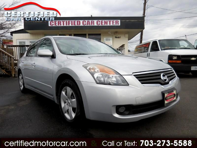 2007 Nissan Altima 4dr Sdn I4 Manual 2.5