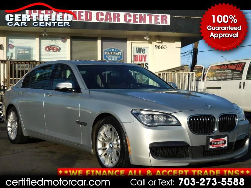 2015 BMW 7 Series 4dr Sdn 750Li xDrive AWD