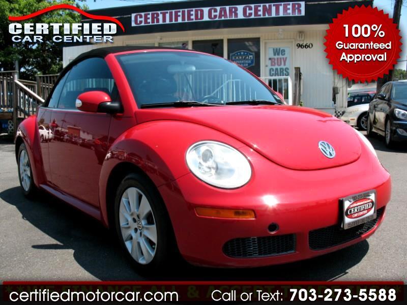 2009 Volkswagen New Beetle Convertible 2dr Auto S
