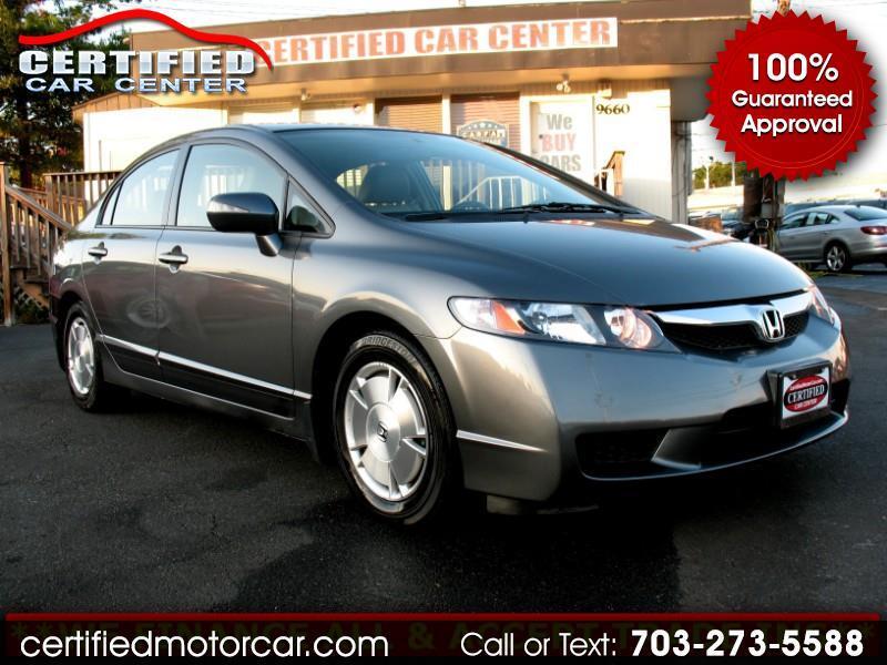 2010 Honda Civic Hybrid 4dr Sdn L4 CVT w/Navi & Leather
