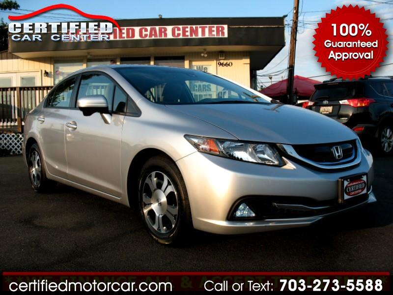 2015 Honda Civic Hybrid 4dr Sdn L4 CVT w/Navi & Leather