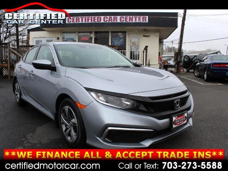 Honda Civic Sedan LX Manual 2019