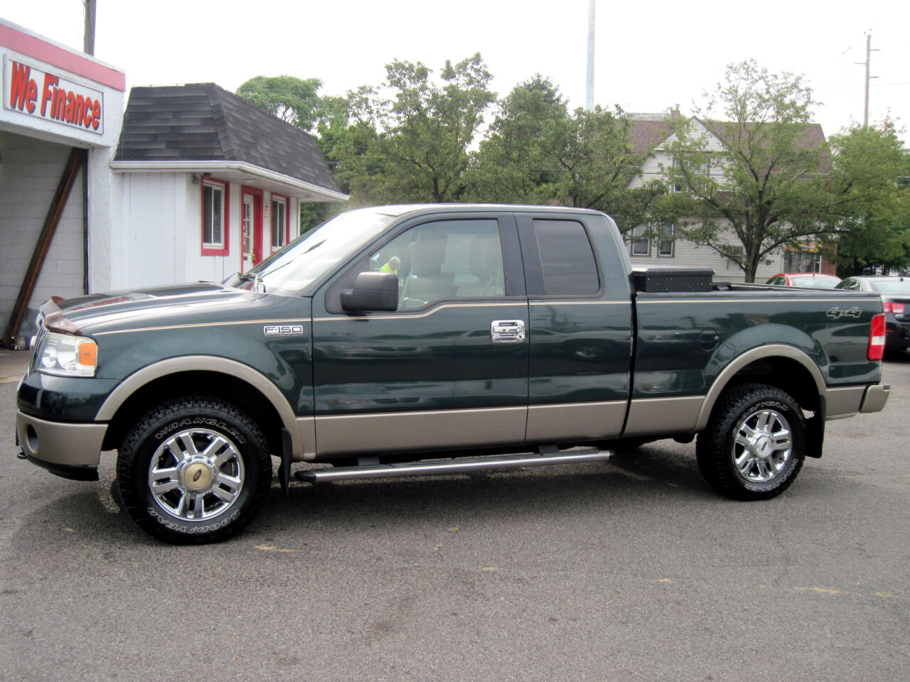 "2006 Ford F-150 Supercab 133"" Lariat 4WD"