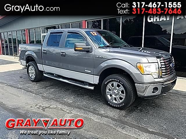 "2012 Ford F-150 4WD SuperCrew 145"" XL"