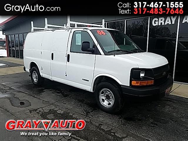 2006 Chevrolet Express Cargo Van Work Van