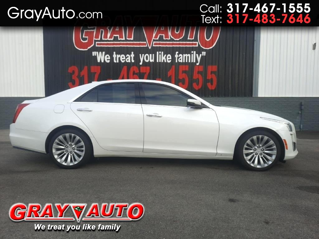 Cadillac CTS Sedan 4dr Sdn 2.0L Turbo Luxury AWD 2017