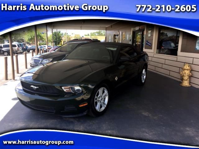 2010 Ford Mustang 2dr Conv Deluxe