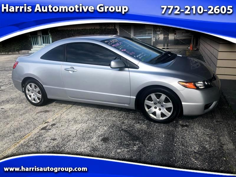 2007 Honda Civic Coupe 2dr CVT LX