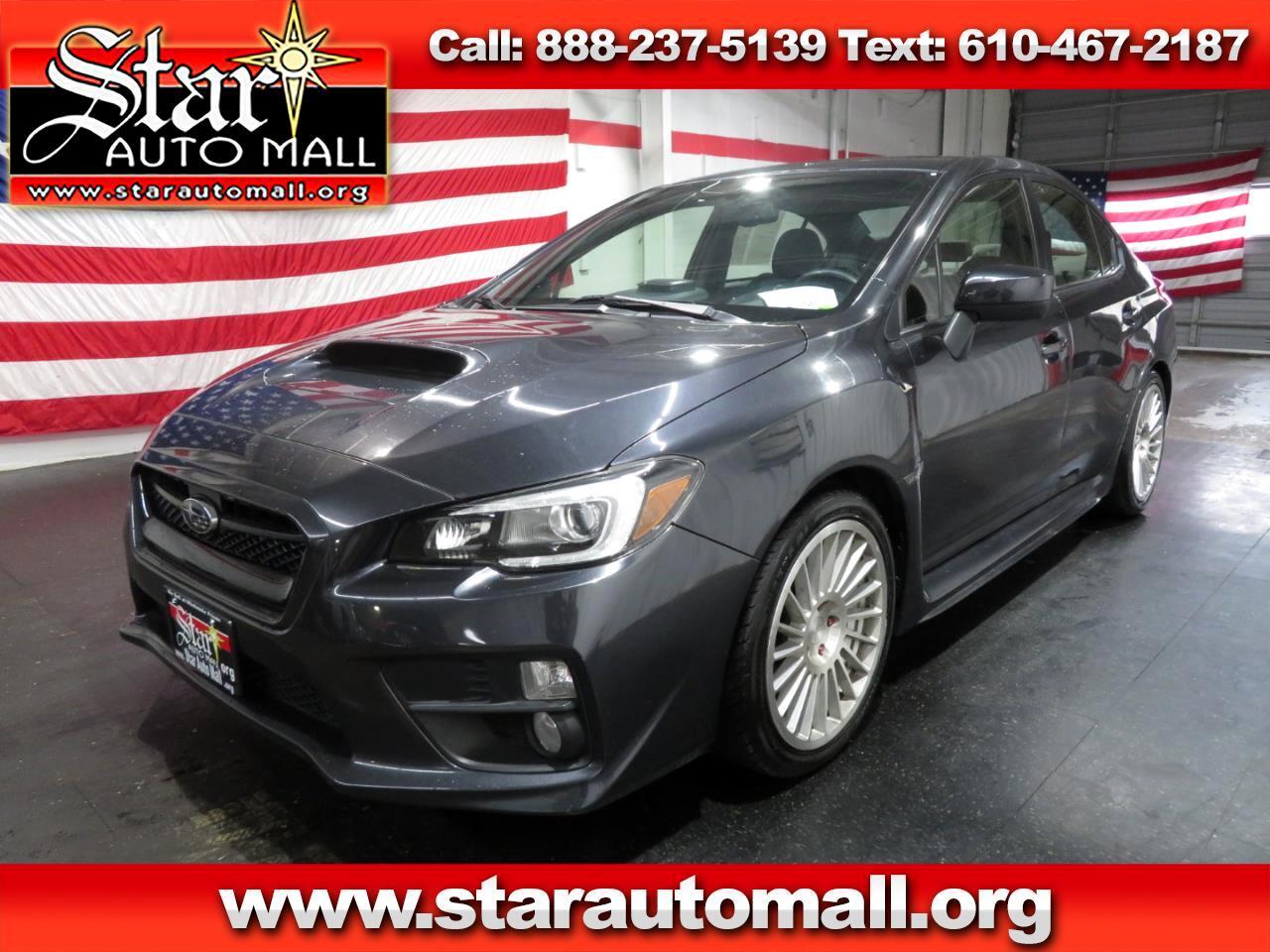 2016 Subaru WRX Limited 4-Door