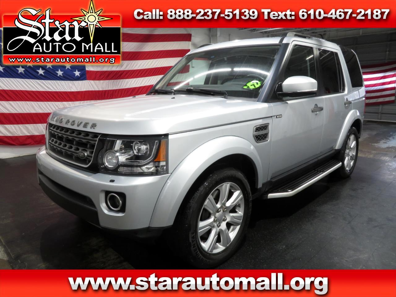 2015 Land Rover LR4 HSE 4WD