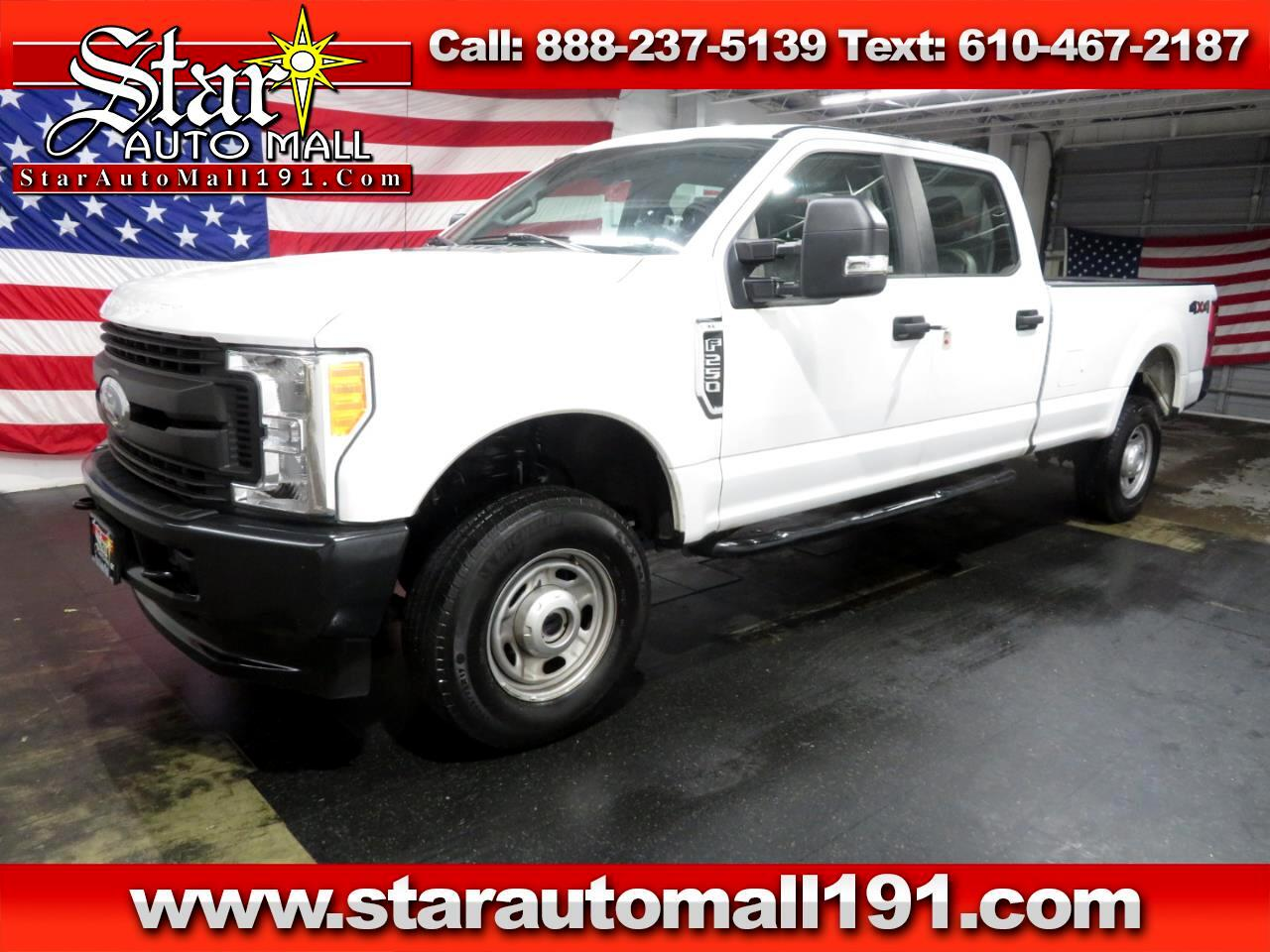 2017 Ford Super Duty F-250 SRW XL Crew Cab 4WD
