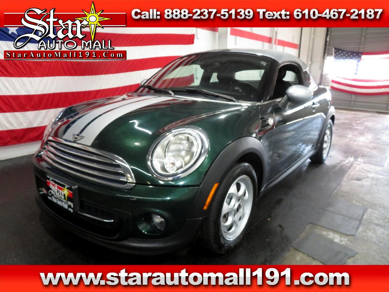 2013 MINI Cooper Coupe 2dr