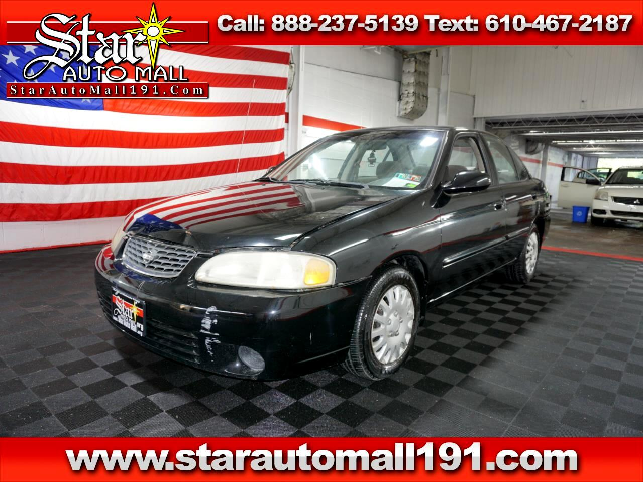 2002 Nissan Sentra 4dr Sdn GXE Auto