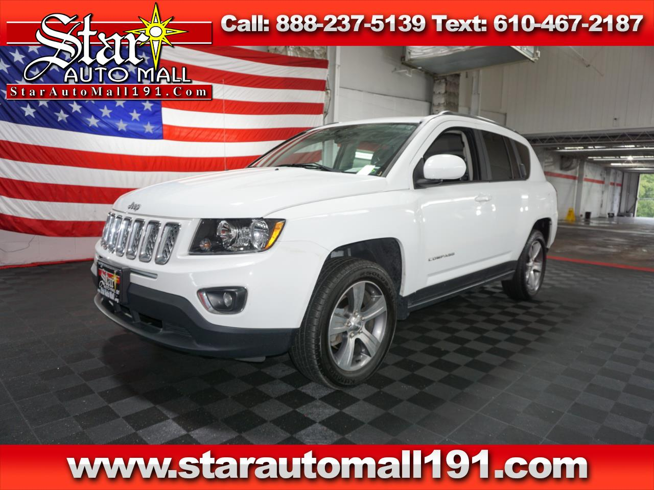 2016 Jeep Compass High Altitude 4x4 *Ltd Avail*