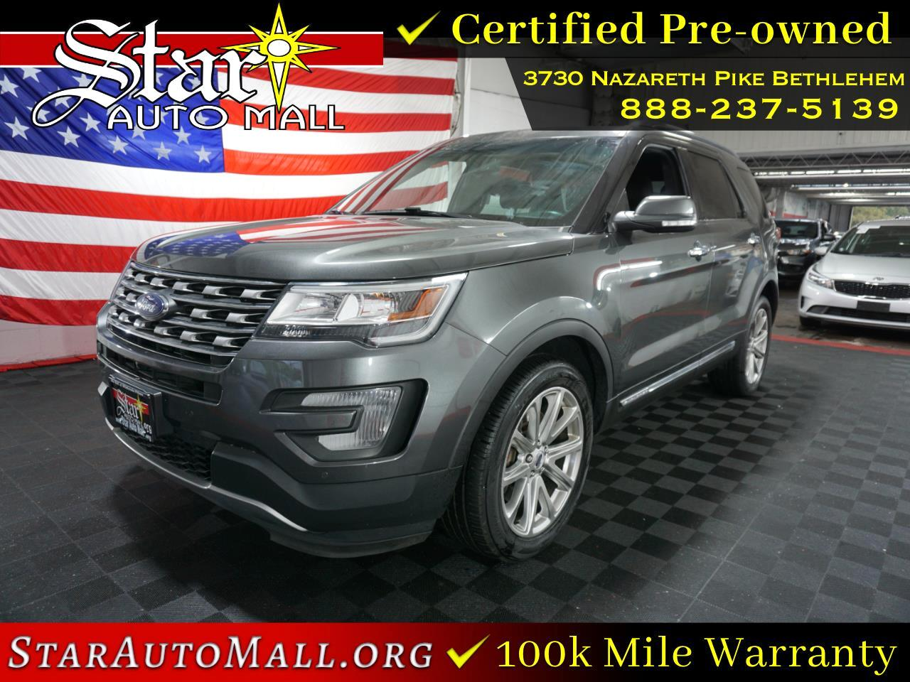 2016 Ford Explorer 4WD 4dr Limited