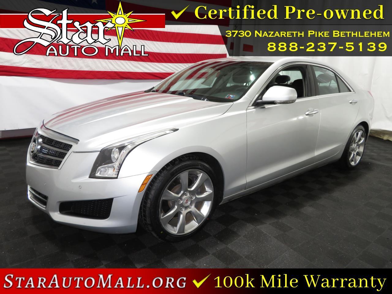 Cadillac ATS 4dr Sdn 2.0L Luxury RWD 2013