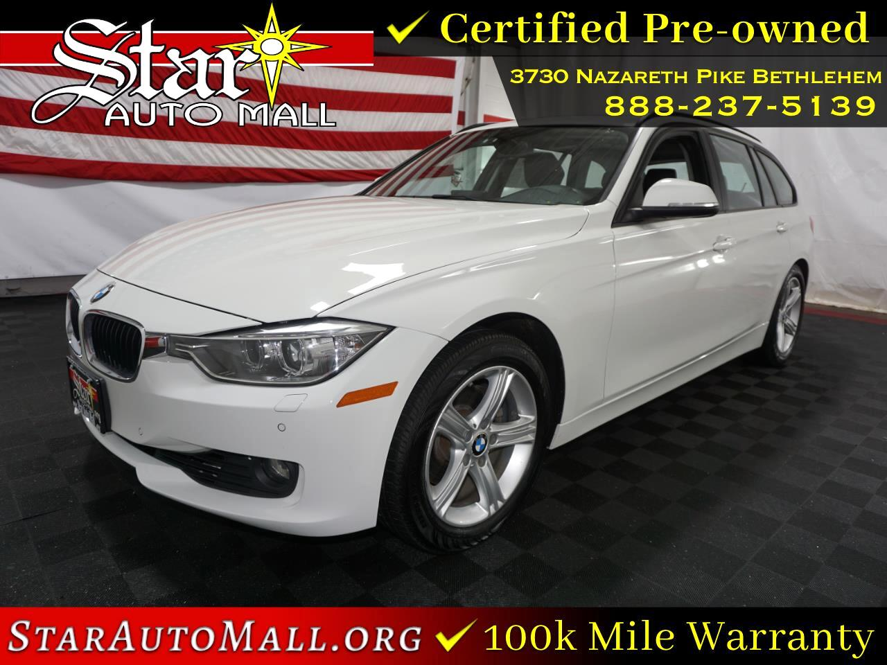 BMW 3 Series 4dr Sports Wgn 328d xDrive AWD 2014