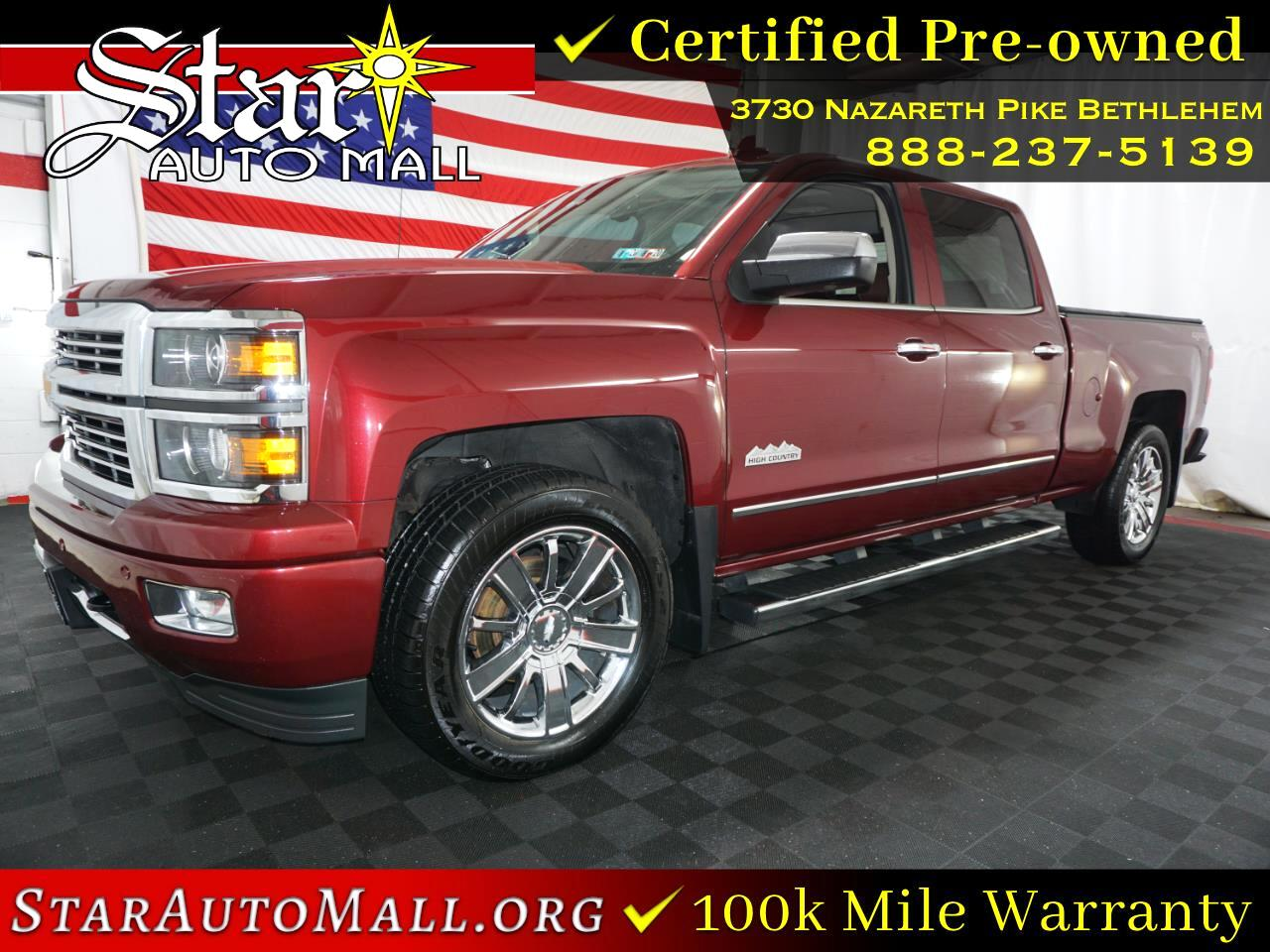 "Chevrolet Silverado 1500 4WD Crew Cab 153.0"" High Country 2015"