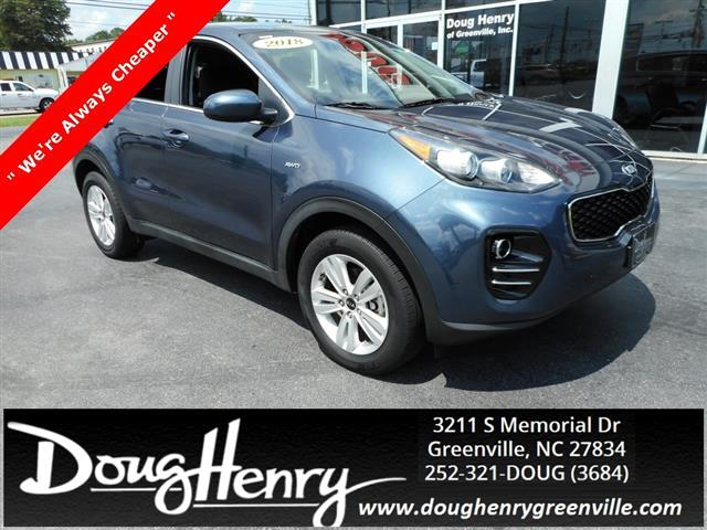 Used 2018 Kia Sportage For Sale In Greenville, NC 27834 Doug Henry Of  Greenville