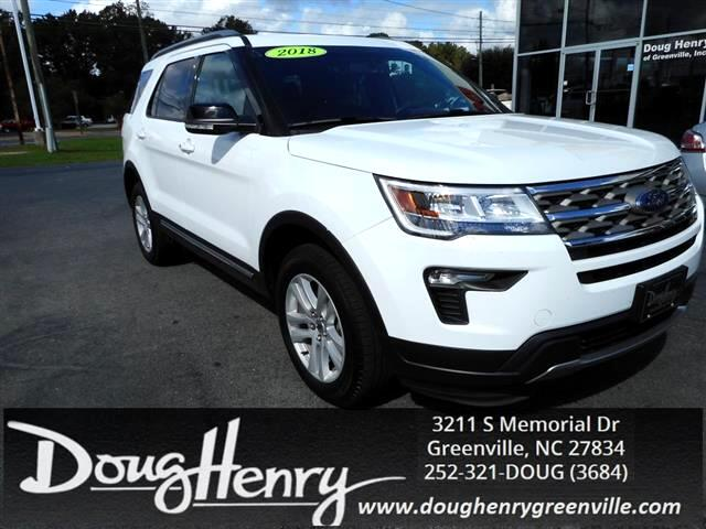 Used 2018 Ford Explorer For Sale In Greenville Nc 27834 Doug Henry