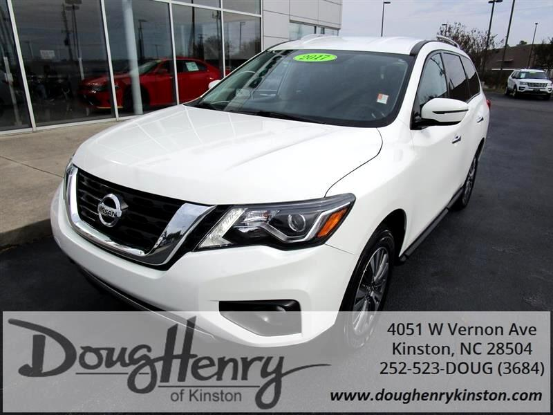 Used 2017 Nissan Pathfinder For Sale In Greenville Nc 27834 Doug