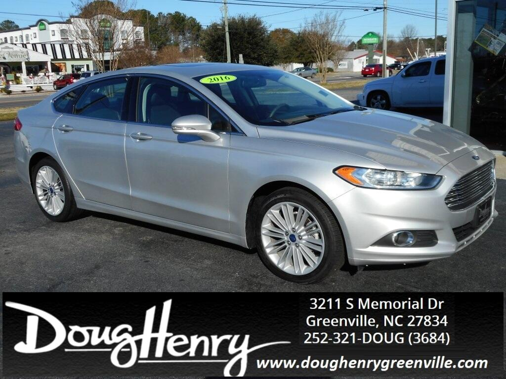 Used 2016 Ford Fusion SE for Sale in Greenville NC 27834 ...