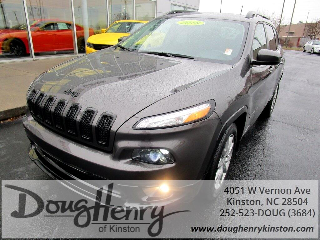 Used 2018 Jeep Cherokee For Sale In Greenville Nc 27834 Doug Henry