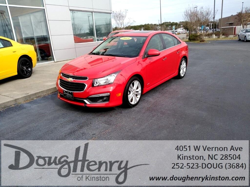 Used 2015 Chevrolet Cruze For Sale In Greenville Nc 27834 Doug