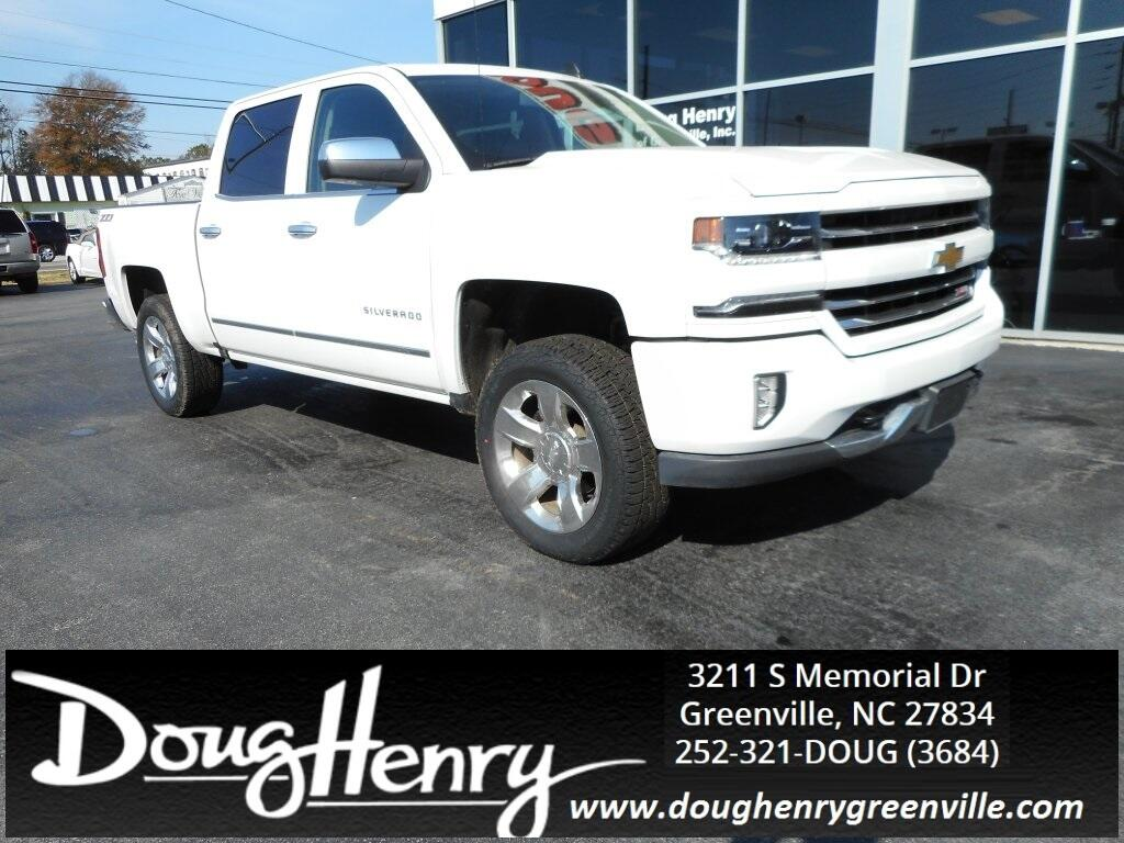 Doug Henry Greenville Nc >> Used 2017 Chevrolet Silverado 1500 For Sale In Greenville Nc 27834