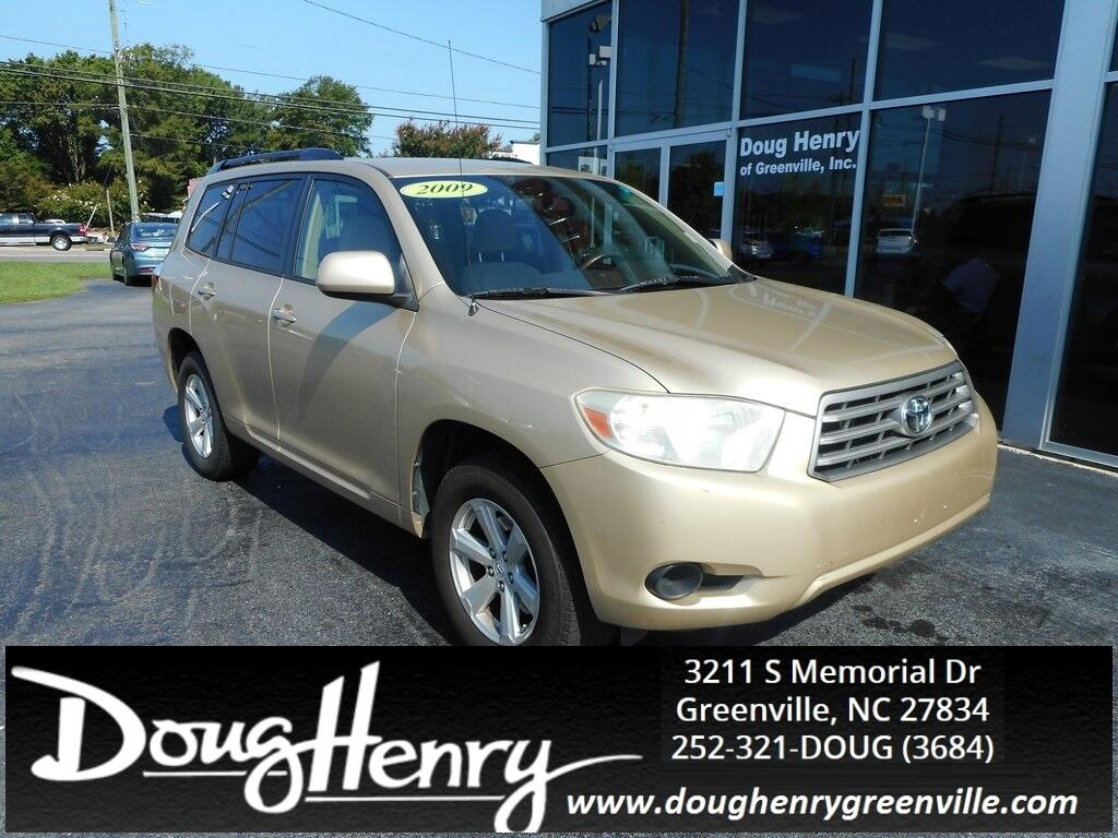 Doug Henry Greenville Nc >> Used 2009 Toyota Highlander Base for Sale in Greenville NC ...