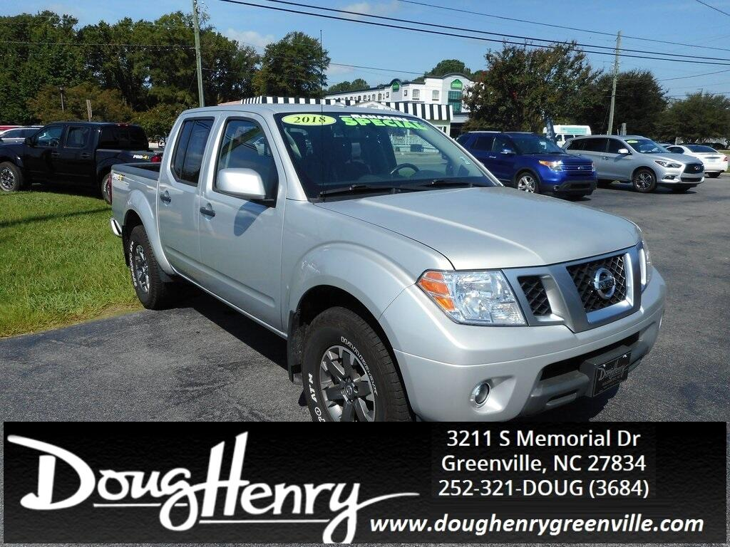Nissan Greenville Nc >> Used 2018 Nissan Frontier Pro For Sale In Greenville Nc